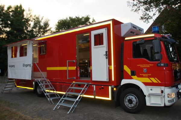 GW-Versorgung©Kreisfeuerwehrverband Nienburg