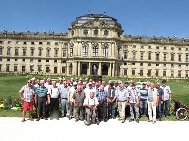 41 Alterskameraden aus der Samtgemeinde Grafschaft Hoya unternahmen eine lehrreiche Reise ins bayrische und badische Oberfrankenland