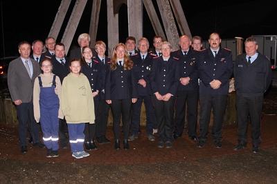 Erste Jahreshauptversammlung der Freiwilligen Feuerwehr Müsleringen – Diethe.