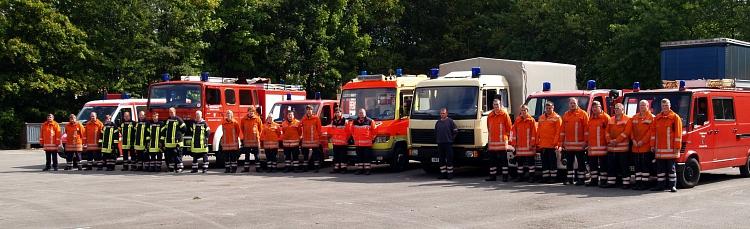 4. Fachzug (Logistik)©Kreisfeuerwehr Nienburg