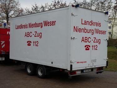 Anhänger ABC Zug_1©Kreisfeuerwehrverband Nienburg