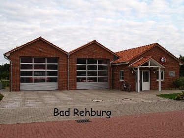 Bad Rehburg Feuerwehrhaus©Kreisfeuerwehrverband Nienburg