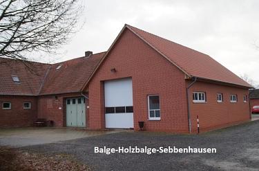 Balge-Holzbalge-Sebbenhausen Feuerwehrhaus neu©Kreisfeuerwehrverband Nienburg