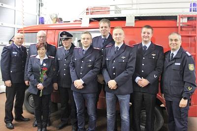 Uwe Kruse und Gerd Meier für 40 jährige Verdienste geehrt
