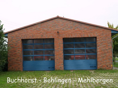 Buchhorst-Behlingen-Mehlbergen Feuerwehrhaus©Kreisfeuerwehrverband Nienburg
