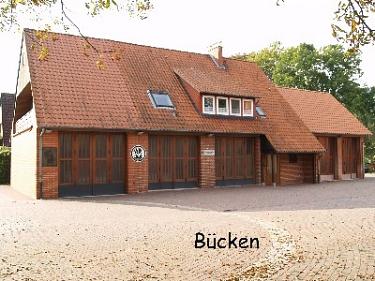 Bücken Feuerwehrhaus©Kreisfeuerwehrverband Nienburg
