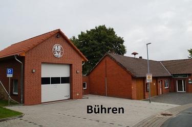 Bühren Feuerwehrhaus neu©Kreisfeuerwehrverband Nienburg