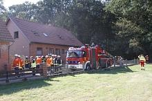Dachstuhlbrand Sebbenhausen