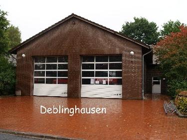 Deblinghausen Feuerwehrhaus©Kreisfeuerwehrverband Nienburg