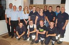 Die siegreiche Gruppe der Feuerwehr Bohnhorst