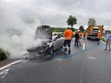 Diepenau 20201007 Fahrzeugbrand