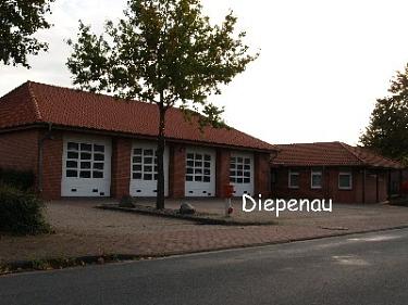 Diepenau Feuerwehrhaus©Kreisfeuerwehrverband Nienburg