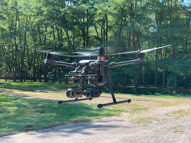Drohne im Flug