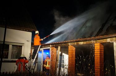Essern 20161231 Gebäudebrand 1