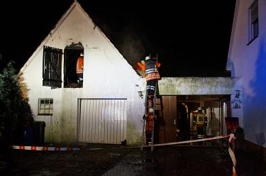 Essern 20161231 Gebäudebrand 2