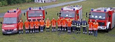 Fahrzeuge 3.Fach-Zug (Wasserversorgung)©Kreisfeuerwehr Nienburg