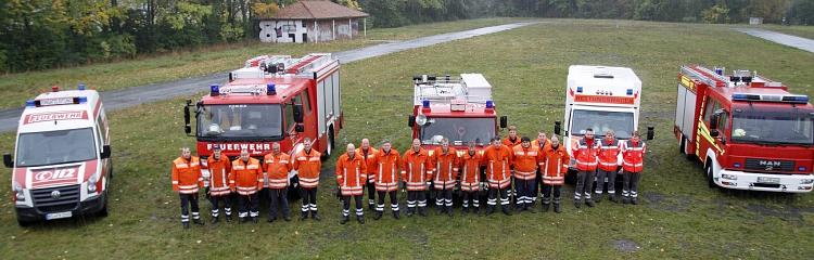 Fahrzeuge 3. Fachzug (technische Hilfeleistung)©Kreisfeuerwehr Nienburg