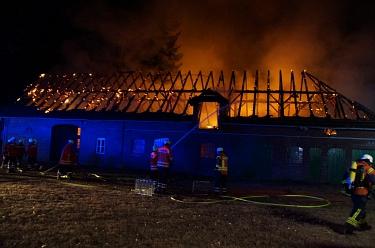 Großenvörde 20180808 Gebäudebrand 2