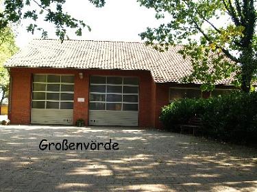 Großenvörde Feuerwehrhaus©Kreisfeuerwehrverband Nienburg