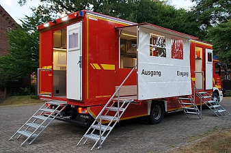 GW-Versorgung (GW-Küche)__2©Kreisfeuerwehrverband Nienburg