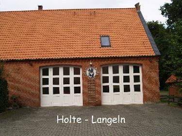 Holte-Langeln Feuerwehrhaus©Kreisfeuerwehrverband Nienburg