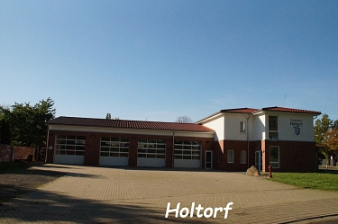 Holtorf Feuerwehrhaus©Kreisfeuerwehrverband Nienburg