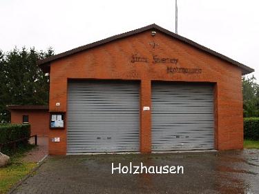 Holzhausen Feuerwehrhaus©Kreisfeuerwehrverband Nienburg