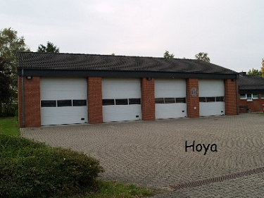 Hoya Feuerwehrhaus©Kreisfeuerwehrverband Nienburg