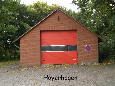 Hoyerhagen Feuerwehrhaus©Kreisfeuerwehrverband Nienburg