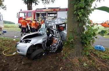Hoysinghausen 20210916 Unfall©Martin Möhring, Kreisfeuerwehrpressesprecher-Süd