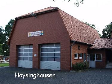 Hoysinghausen Feuerwehrhaus©Kreisfeuerwehrverband Nienburg
