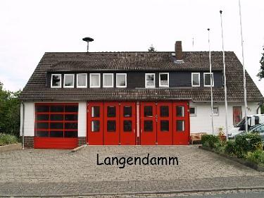 Langendamm Feuerwehrhaus©Kreisfeuerwehrverband Nienburg