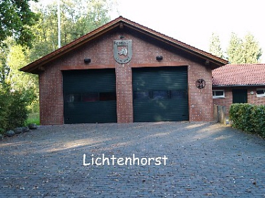Lichtenhorst Feuerwehrhaus©Kreisfeuerwehrverband Nienburg