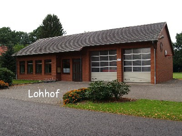 Lohof Feuerwehrhaus©Kreisfeuerwehrverband Nienburg