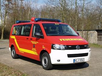 Mannschaftstransportwagen (MTW) TEL©Kreisfeuerwehrverband Nienburg