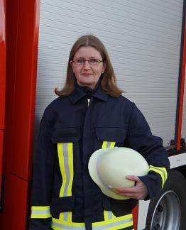 Marion Thiermann, Pressewartin SG Grafschaft Hoya