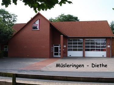 Müsleringen-Diethe Feuerwehrhaus