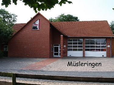 Müsleringen Feuerwehrhaus©Kreisfeuerwehrverband Nienburg