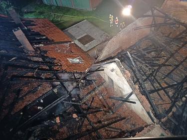 Nendorf_20210925_Gebäudebrand_7©FF SG Mittelweser