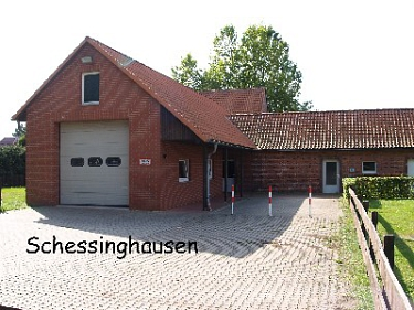 Schessinghausen Feuerwehrhaus©Kreisfeuerwehrverband Nienburg