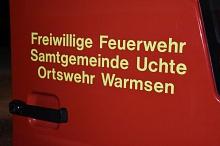 Symbolbild FF Warmsen