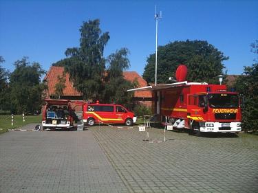 TEL Aufbau Husum 2012©Kreisfeuerwehr LK Nienburg/Weser