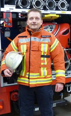 Thorsten Schomburg©Annika Klepper, Feuerwehrpressesprecherin SG Mittelweser