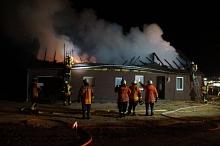 Uchte 20191204 Gebäudebrand