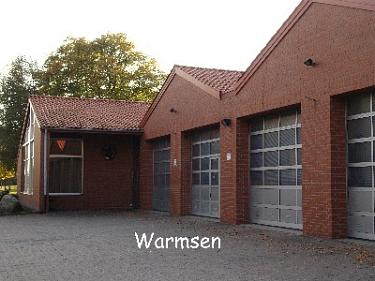 Warmsen Feuerwehrhaus©Kreisfeuerwehrverband Nienburg