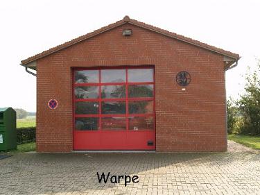 Warpe Feuerwehrhaus©Kreisfeuerwehrverband Nienburg