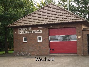 Wechold Feuerwehrhaus©Kreisfeuerwehrverband Nienburg
