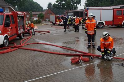 Schnappschüsse vom Leistungsvergleich der Feuerwehren