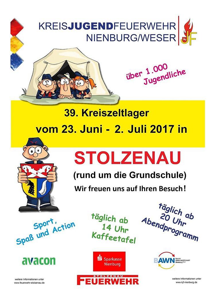 Zeltlager Stolzenau 2017©Kreisjugendfeuerwehr Nienburg/Weser
