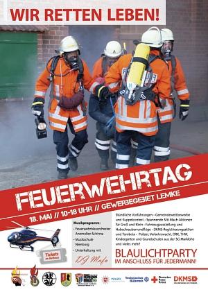 Feuerwehrtag Lemke Plakat 02